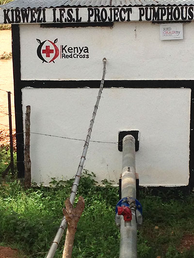 Kibwezi 8 pump station