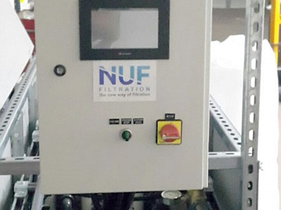 NUF control panel for village size units