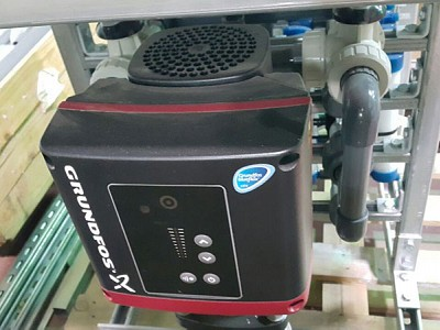 Filtration with optional electric pump
